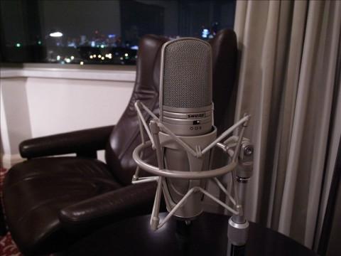 音声講座収録